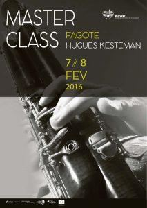 cartaz Masterclass fagote