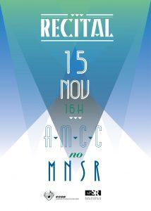 newsletter AMCC recital